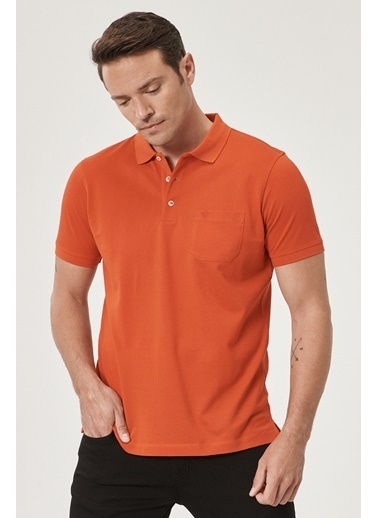 Beymen Business Regular Fit Polo Tişört 4B4819200073 Kırmızı